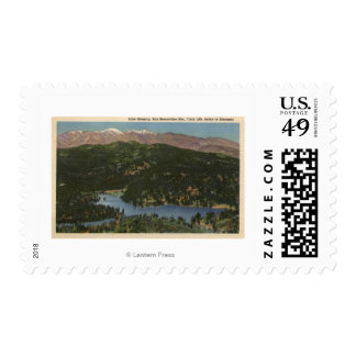 View of Lake Gregory & San Bernardino Stamp