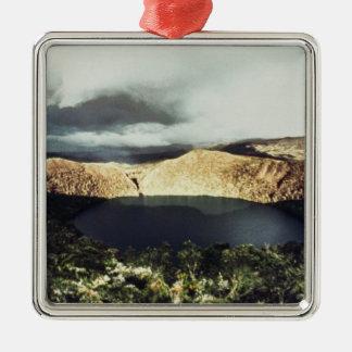 View of Lake Guatavita Metal Ornament