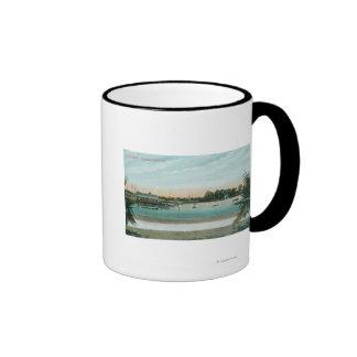 View of Lake MerrittOakland, CA Ringer Mug