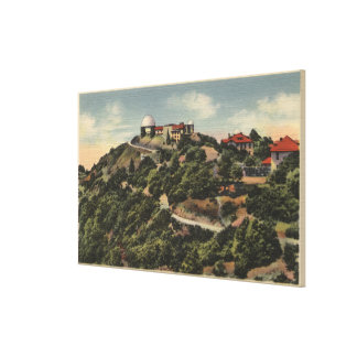 View of Lick Observatory on Mt. Hamilton Canvas Print