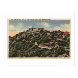 View of Lick Observatory on Mt. Hamilton Post Cards