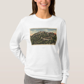 View of Lick Observatory on Mt. Hamilton T-Shirt