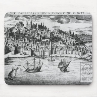 View of Lisbon Mouse Pad