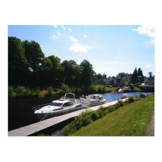 View of Loch Ness Postcard