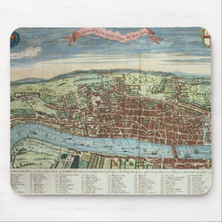View of London, c.1560 Mouse Pad