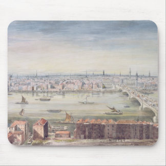 View of London from St. Paul's to the Custom Mouse Pad