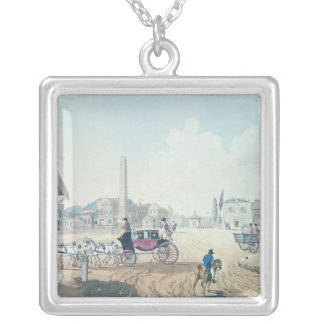 View of London Silver Plated Necklace