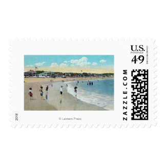 View of Long Beach and Cape Ann Postage Stamp