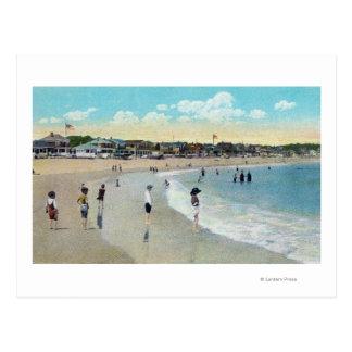 View of Long Beach and Cape Ann Postcard