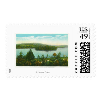 View of Loon Lake and Blythewood Island Postage