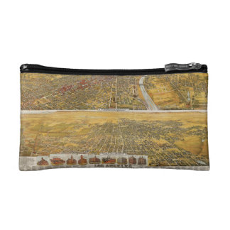 View Of Los Angeles, 1894 Cosmetic Bag