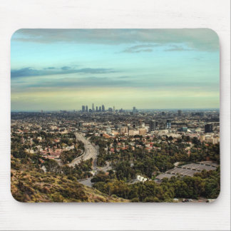 View of Los Angeles Mouse Pad
