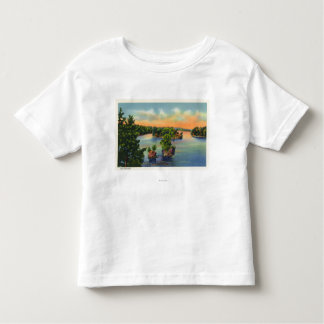 View of Lost Channel Toddler T-shirt