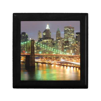 View of Lower Manhattan and the Brooklyn Bridge Gift Box