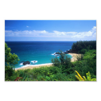 View of Lumahai Photo Print