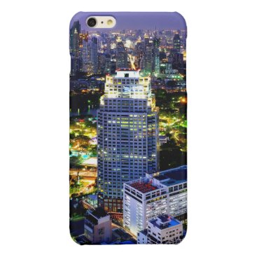 View of Lumphini Park Glossy iPhone 6 Plus Case