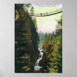 View of Lynn Canyon Suspension Bridge Posters
