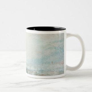 View of Lyons Two-Tone Coffee Mug