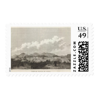 View of Macao in China Postage Stamp