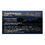 View of Macchapuchhre over Pokhara Lake, Pokhara, Business Card