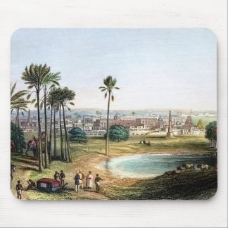 View of Madras 19th Century Mouse Pad