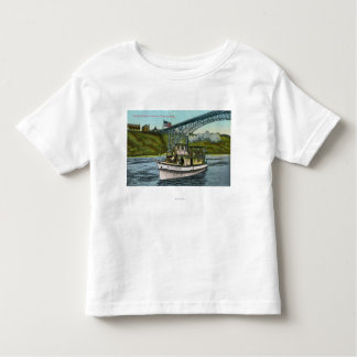 View of Maid of the Mist Boat 2 Toddler T-shirt
