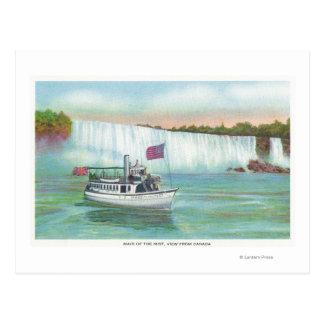 View of Maid of the Mist Boat Postcard