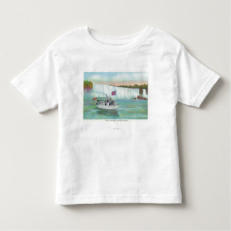 View of Maid of the Mist Boat T Shirt