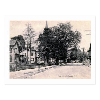 View of Main St., Belleville, New Jersey Vintage Postcard