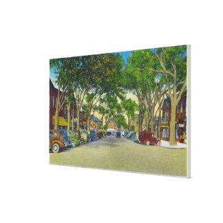 View of Main Street 2 Canvas Print