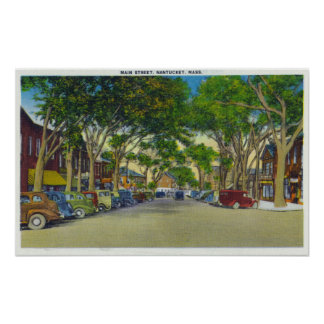 View of Main Street 3 Poster