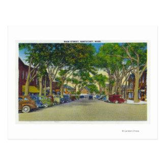 View of Main Street 5 Postcard