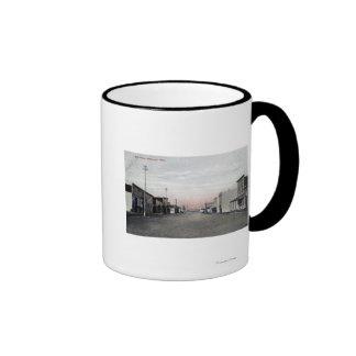 View of Main Street Ringer Coffee Mug