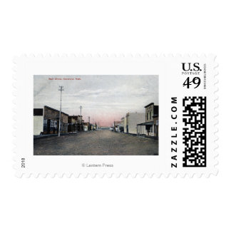 View of Main Street Postage Stamp