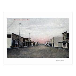 View of Main Street Postcard