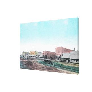 View of Main StreetBlackfoot, ID Canvas Print