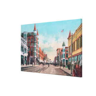 View of Main StreetBoise, ID Canvas Print