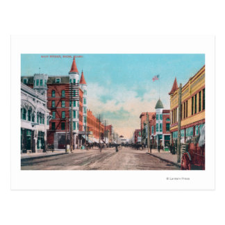 View of Main StreetBoise ID Post Card