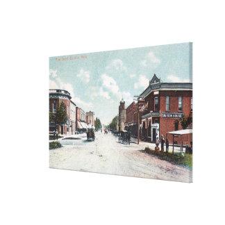 View of Main StreetDavison, MI Canvas Print