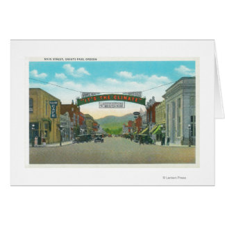 View of Main StreetGrants Pass, OR Card