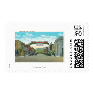 View of Main StreetGrants Pass, OR Postage
