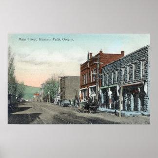 View of Main StreetKlamath Falls, OR Poster
