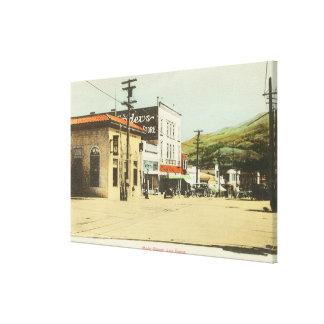 View of Main StreetLos Gatos, CA 2 Canvas Print