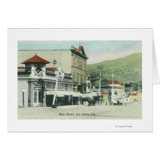 View of Main StreetLos Gatos, CA 2 Cards