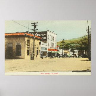 View of Main StreetLos Gatos, CA 2 Posters