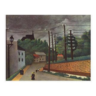 View of Malakoff Hauts de Seine by Henri Rousseau Postcard