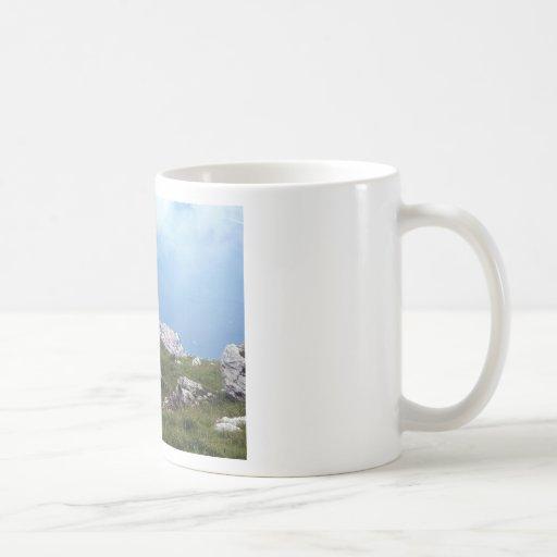 View of Malcesine, Lake Garda Classic White Coffee Mug