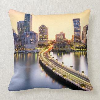 View of Mandarin Oriental Miami with reflection Pillows