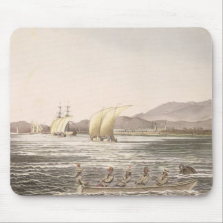View of Manila, Philippines, 1826 Mouse Pad