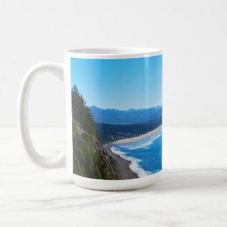 View of Manzanita Beach, Oregon Coast Coffee Mug